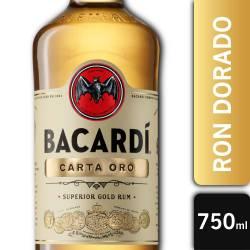 Ron Bacardi Gold x 750 cc.