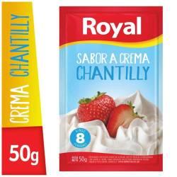 Polvo para preparar Crema Chantilly Royal x 50 g.