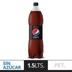Gaseosa Cola Light Pepsi Black Pet x 1,5 lt.
