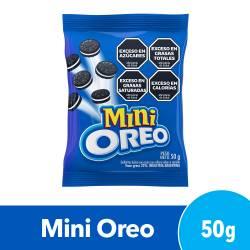 Galletitas Chocolate Mini Oreo Rellenas con Vainilla x 50 g.