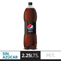 Gaseosa Cola Light Pepsi Black Pet x 2,25 lt.