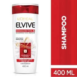 Shampoo Reparación Total 5 Elvive x 400 cc.