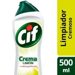 Limpiador Cremoso Cif Limón x 500 cc.