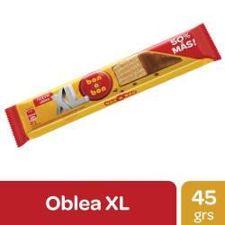 Oblea Rellena con Crema Maní Bon o Bon Cubierta de Chocolate x 45 g.