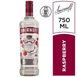 Vodka Smirnoff Raspberry x 700 cc.