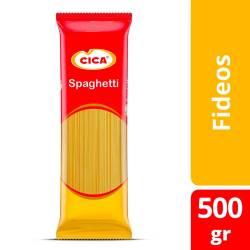 Fideos Spaghetti Cica x 500 g.