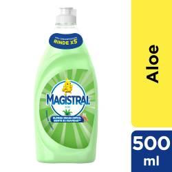 Detergente Líquido Espuma Activa Magistral Aloe x 500 cc.