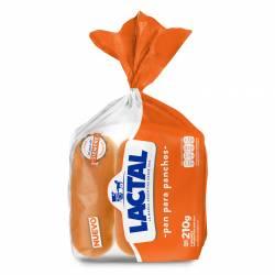 Pan para Panchos Lactal x 210 g.