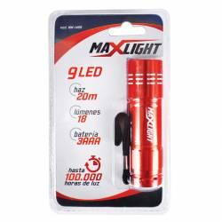 Linterna 9 Leds Maxlight x 1 un.