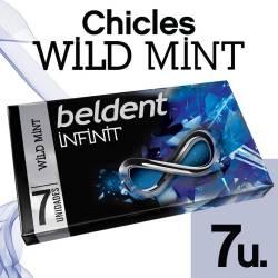 Chicles Beldent Menta Infinit Wow x 13 g.