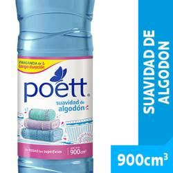 Limpiador Líquido Poett Suavidad de Algodón x 900 cc.