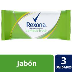 Jabón de Tocador Rexona Bamboo Fresh x 375 g.