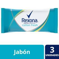 Jabón de Tocador Rexona Cotton Fresh x 375 g.