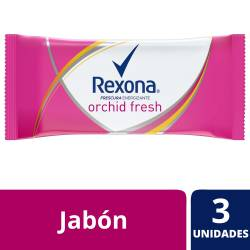 Jabón de Tocador Rexona Orchid Fresh x 375 g.