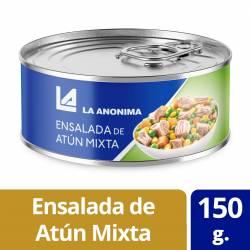 Ensalada de Atún Mixta con Vegetales La Anónima x 150 g.
