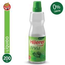 Endulzante Líquido Hileret Stevia Pet x 200 cc.