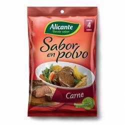 Caldo Saborizante Alicante Carne x 4 sobres x 30 g.