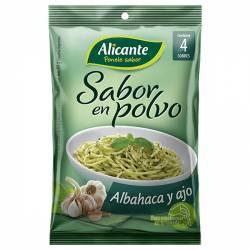 Caldo Saborizante Alicante Albahaca-Ajo x 4 sobres x 30 g.