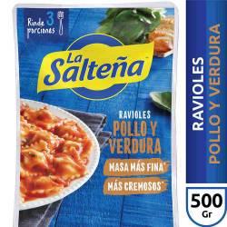 Ravioles de Pollo y Verdura La Salteña x 500 g.