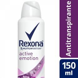 Antitranspirante Aerosol Rexona Active Emotion x 150 cc.