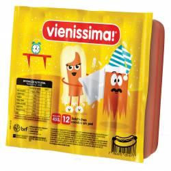 Salchichas Viena x 12 un. Vienissima x 450 g.