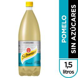Gaseosa Schweppes Pomelo Zero Pet x 1,5 lt.