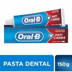 Crema Dental 1-2-3 Oral-B Anticaries x 150 g.