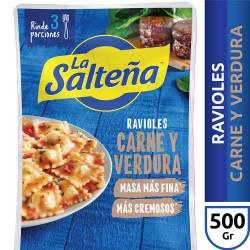 Ravioles de Carne y Verdura La Salteña x 500 g.