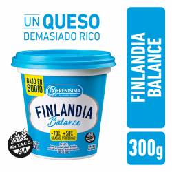 Queso Untable Light Finlandia Balance x 300 g.