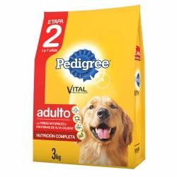 Alimento para Perro Vegetales Pollo Adulto ET2 Pedigree x 3 kg.
