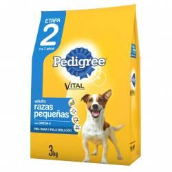 Alimento para Perro Vegetales Pollo Adulto R/P ET2 Pedigree x 3 kg.