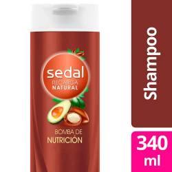 Shampoo Sedal Bomba Nutrición x 340 cc.