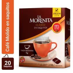 Café en Saquitos La Morenita x 20 un.