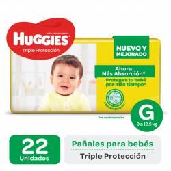 Pañal Huggies Classic Mega Pack G x 22 un.