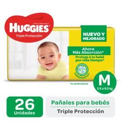Pañal Huggies Classic Mega Pack M x 26 un.