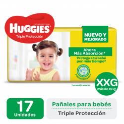 Pañal Huggies Classic Mega Pack XXG x 17 un.