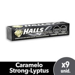 Caramelos Halls Mentol Eucalipto Fuerte x 25 g.