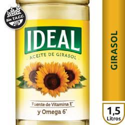 Aceite de Girasol Ideal x 1,5 Lt.