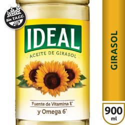 Aceite de Girasol Ideal x 900 cc.