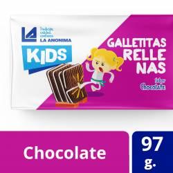 Galletitas Rellenas Chocolate La Anónima x 97 g.
