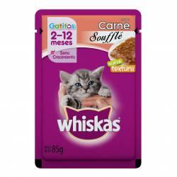 Alimento para Gatitos Carne Souff Whiskas x 85 g.