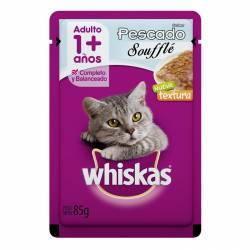 Alimento para Gatos Pescado Souff Whiskas x 85 g.
