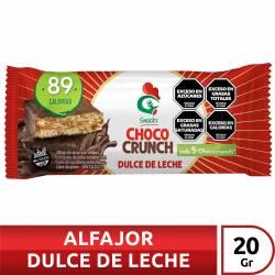 Alfajor de Arroz Chococrunch Relleno con Dulce de Leche x 20 g.