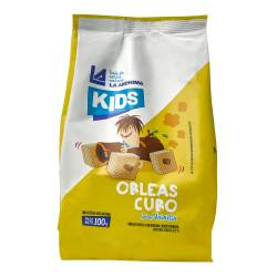 Obleas Cubo Kids Vainilla La Anónima x 100 g.