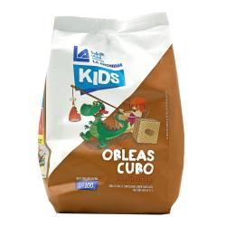 Obleas Cubo Kids Chocolate La Anónima x 100 g.
