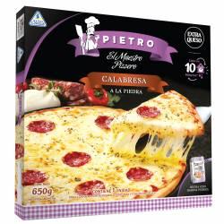 Pizza Calabresa a la Piedra Pietro x 650 gr.