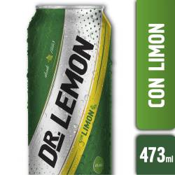 Dr. Lemon Lata sabor Limón x 473 cc.