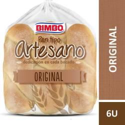 Pan para Pancho x 6 un. Bimbo Tipo Artesano x 240 g.