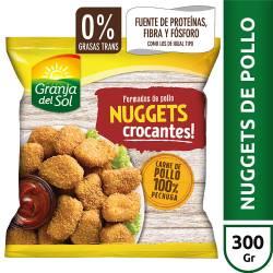 Nuggets de Pollo Crocantes Granja del Sol x 300 gr.