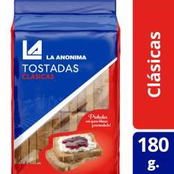 Tostadas Clásicas La Anónima x 180 g.
